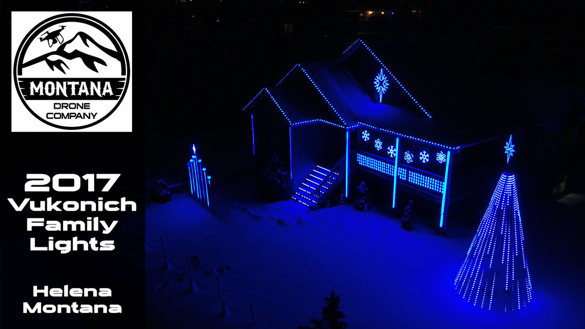 2017 Vukonich Family Lights | Helena Montana | Mary Did You Know