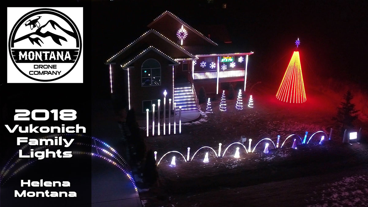 2018 Vukonich Family Lights | Helena Montana | The Greatest Show