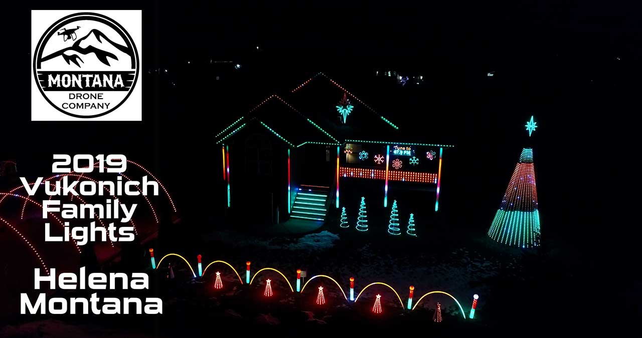 2019 Vukonich Family Lights | Helena Montana | Christmas Vacation