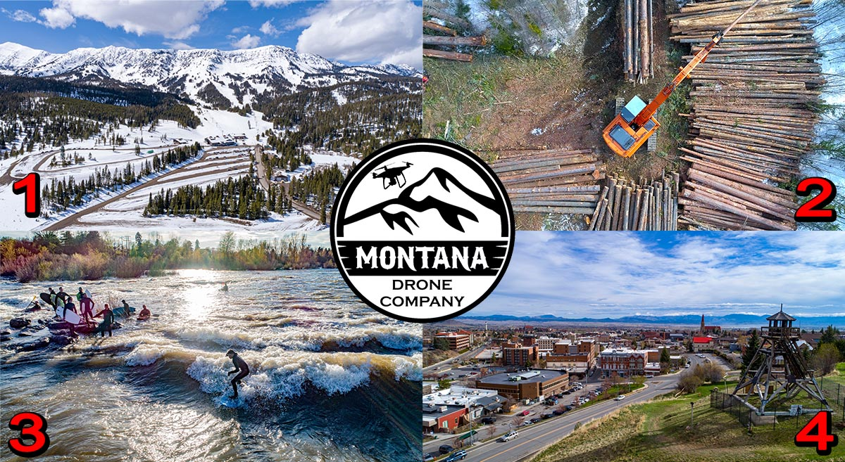 April 2020 Photo of the Month | Montana Drone Photos