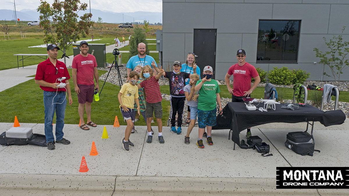 Drone Education | Training Kids at the Gallatin Valley YMCA Summer Camp