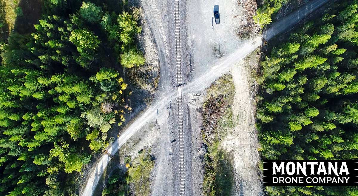 Drone Surveying | Montana Railroad Tracks