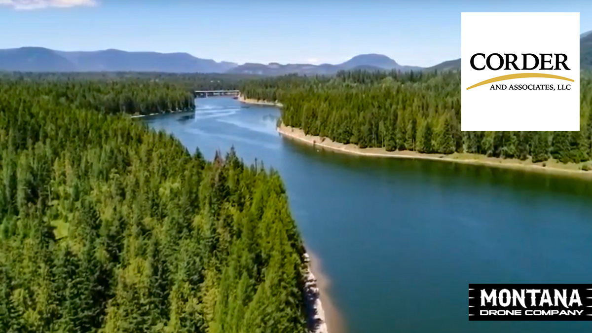 Heron MT Property For Sale | Corder and Associates LLC | Montana Drone Property Video