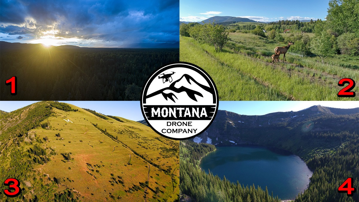 June 2020 Photo of the Month | Montana Drone Photos