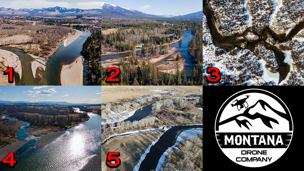 March 2021 Photo of the Month | Montana Drone Photos