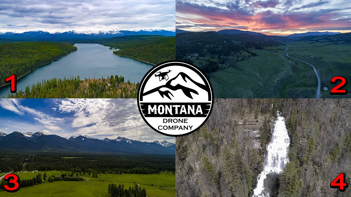 May 2020 Photo of the Month | Montana Drone Photos