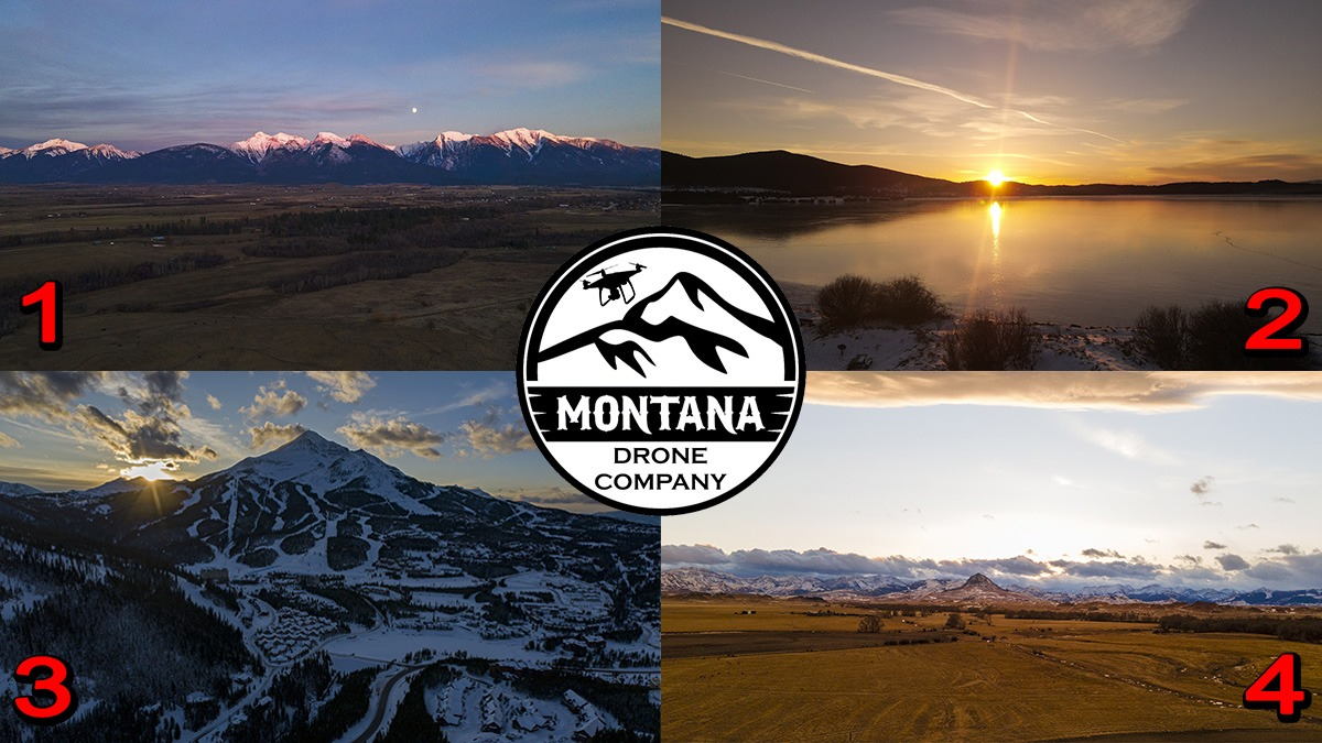 November 2020 Photo of the Month | Montana Drone Photos