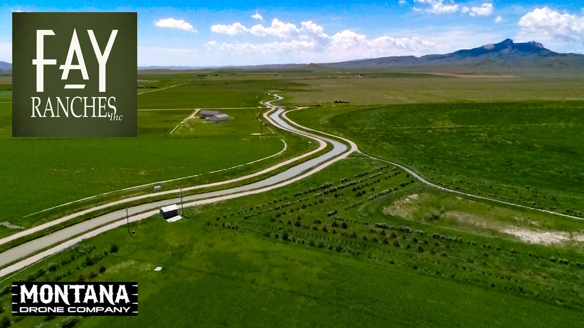 Powell WY Farm & Ranch For Sale | VEO Irrigated Farm & Ranch Drone Footage