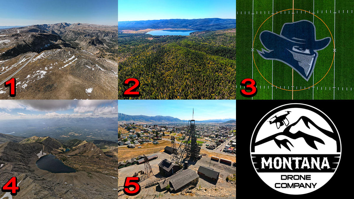 September 2020 Photo of the Month | Montana Drone Photos