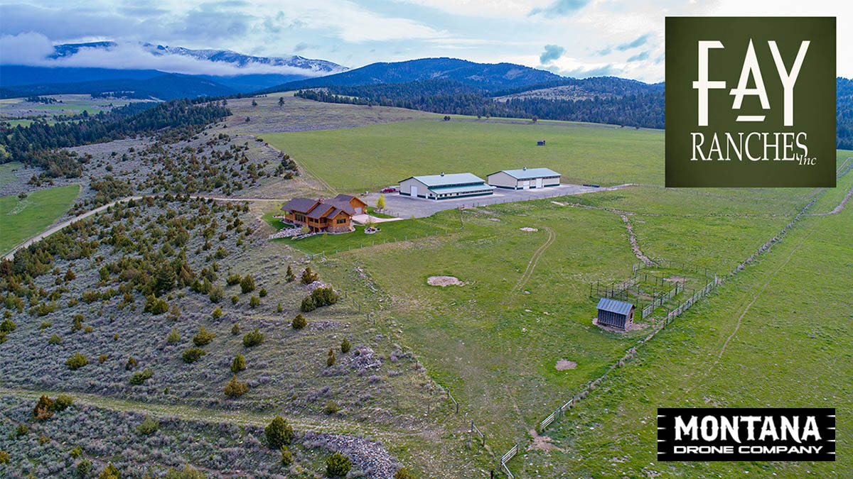 Townsend MT Ranch Real Estate Video | Fay Ranches | Drone 4K Footage