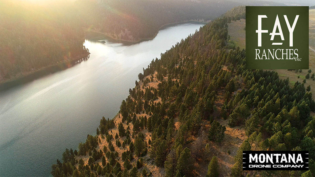Wade Lake MT Real Estate Property Video | Fay Ranches | Drone 4K Footage
