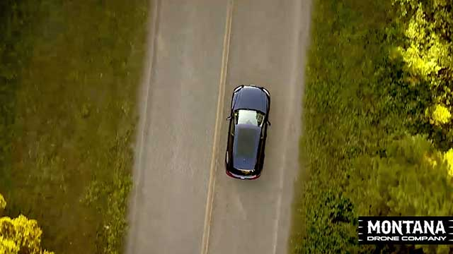 Audi Bozeman Tv Commercial Drone Aerial Video Footage