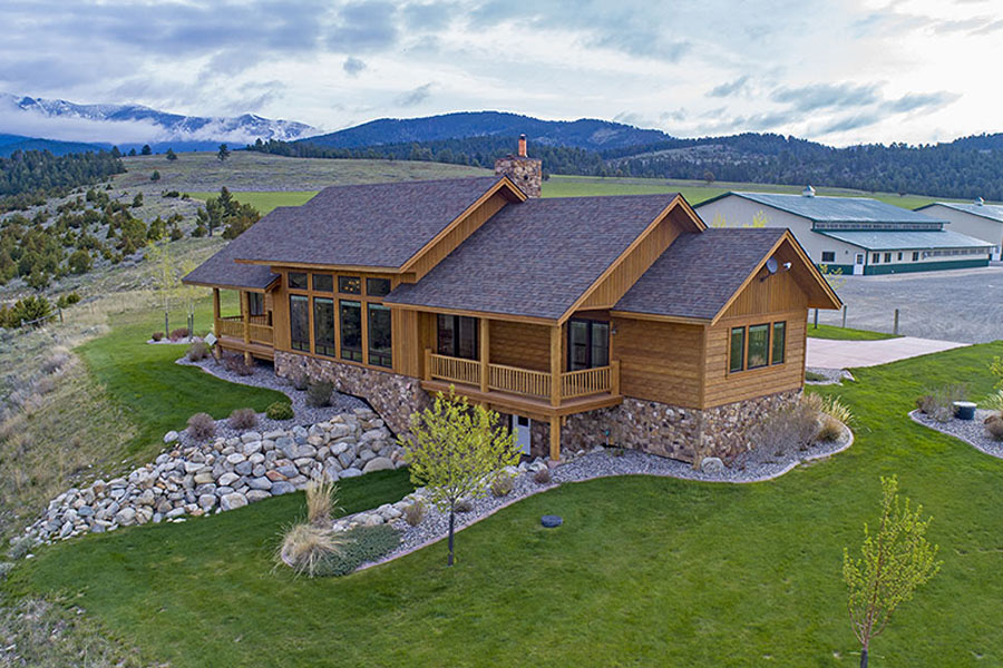 Montana Real Estate Drone Aerial Photographers