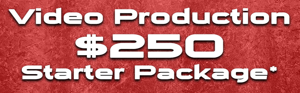 Montana Video Production Pricing 2020 Starter Package